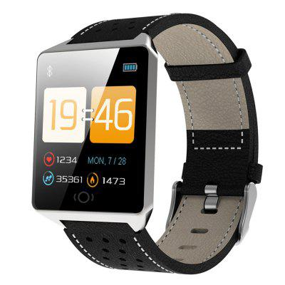 CK19 1.3 inch Big Touch Screen Smart Watch PPG Heart Rate Blood Pressure Custom Wallpaper Sports Running Smartwatch