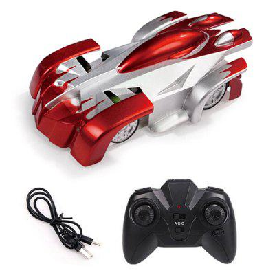 9920L Wall Climbing Remote Control Car Toy RC Stunt Vehicle Light 360 Degree High Speed Rotation