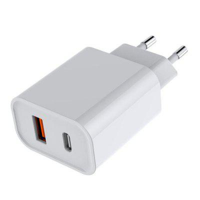 GS-18W0922 PD18W EU Plug Power Adapter 9V2A Charging Head for Android Apple Multi-function Fast Charge Charger
