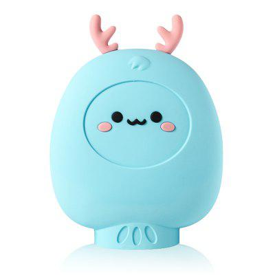 XL-001 Deer Shaped Hot Water Bottle Warm Uterus Stomach Bag Microwave Heating Safe Explosion-proof Hand Warmer