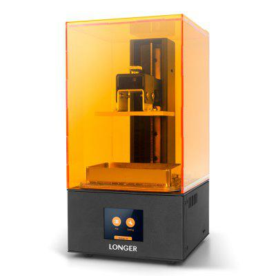Gearbest - Longer Orange10 LCD 3D Printer Resin SLA 3D Printer Quick Slice Parallel UV LED Temperature Warning Full Metal 3D Drucker Impresora – Dark Orange US Plug (3-pin)