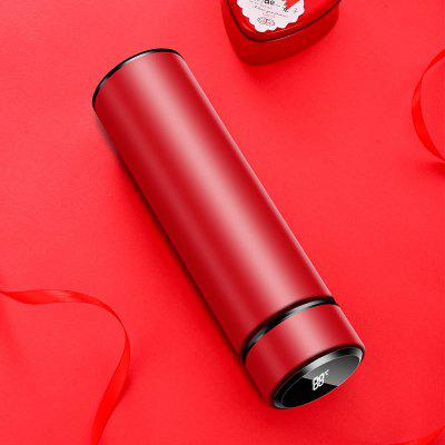 Smart Cup Intelligent Water Bottle 304 Double-layer Stainless Steel LED Display Temperature 500ML