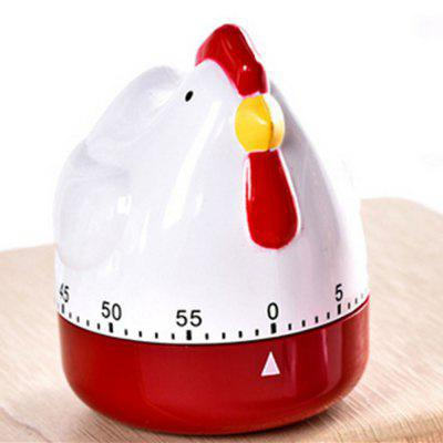 Creative Kitchen Timer Countdown Reminder Large Hen Shape