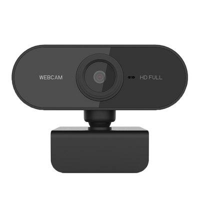 PC-C1 1080P HD Webcam with Mic Rotatable PC Desktop Web Camera Cam Mini Computer Video Recording Work