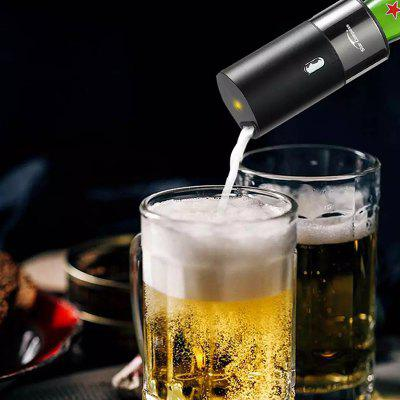 Portable Beer Foam Machine Bottled and Canned Optional