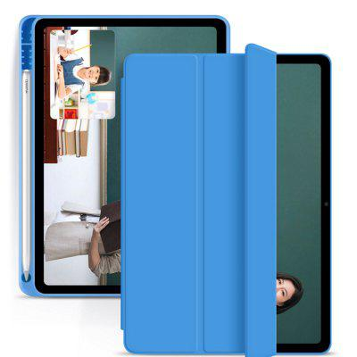 Tablet Silicone Case Cover Shell with Pen Tray Soft for iPad Mini 5