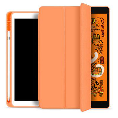 Tablet Silicone Case Cover Shell with Pen Tray Soft for 2017/2018 iPad 9.7 inch