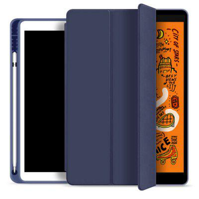 Tablet Silicone Case Cover Shell with Pen Tray Soft for 2019 iPad Air 10.5 inch