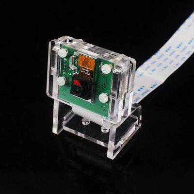 C1720 Camera Module Bracket Cable Set Acrylic Assembly 6pcs for Green 5MP / Official Raspberry Pi 8MP