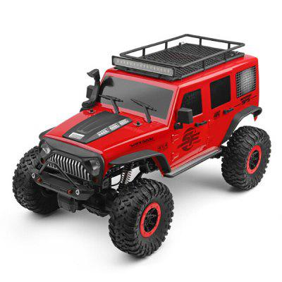 104311 1:10 Electric 4WD Climbing Vehicle Suspended Double Straight Bridge RC Off-Road Car Toy