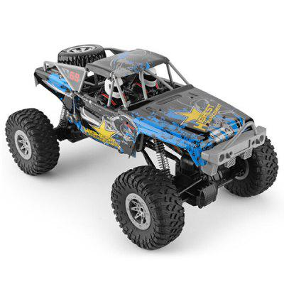 104310 1:10 Electric 4WD Climbing Vehicle Suspended Double Straight Bridge RC Off-Road Car Toy