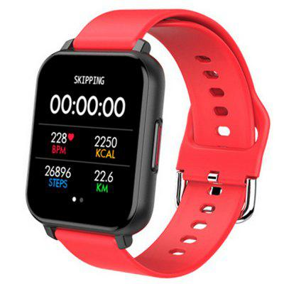 T82 1.55 inch Large Screen Smart Watch Heart Rate Pedometer Blood Oxygen Information Call Reminder Long Life Smartwatch
