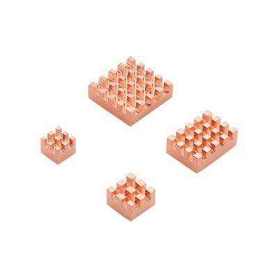 C2231 Copper Fins Suitable for 4B Raspberry Pi 4 Pieces in Package