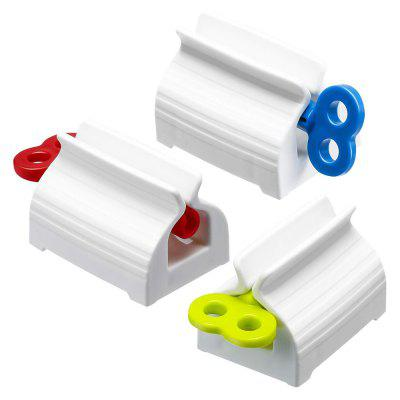 Scroll Toothpaste Tube Squeezer Manual Facial Cleanser Squeeze Dispenser Holder 3pcs