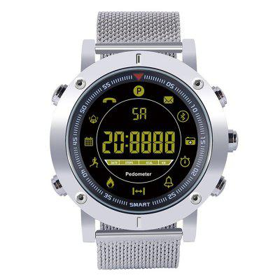 EX19 1.21 inch Large Screen Full Metal Case Smart Watch Long Standby Time Phone Information Reminder Outdoor Sports Tracker Smartwatch