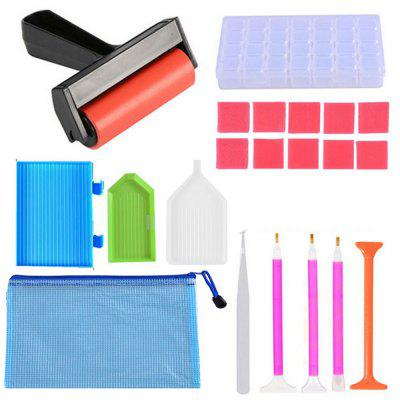 Diamond Painting Tool Paste Cross Stitch Drill Kit 21PCS
