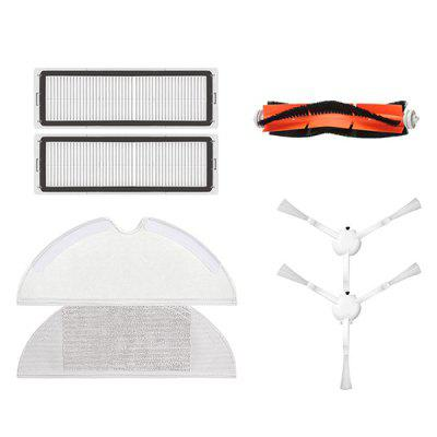 Sweeper Accessories Set Main Roller Mopping Pad Filter Side Brush Cleaning Tool for Mijia 1C STYTJ01ZHM