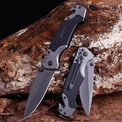 Portable Folding Knife Multi-functional Outdoor Camping Survival High Hardness Blade