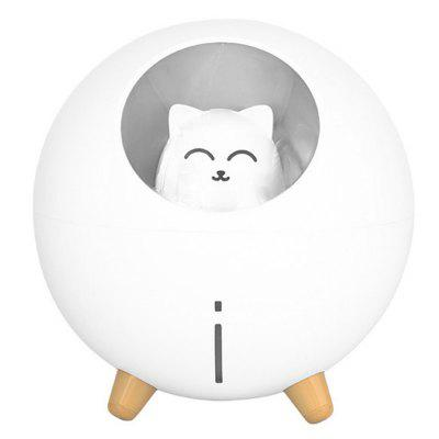 USB Mini Desktop Humidifier Cartoon Cute Cat Planet Shape 220ML