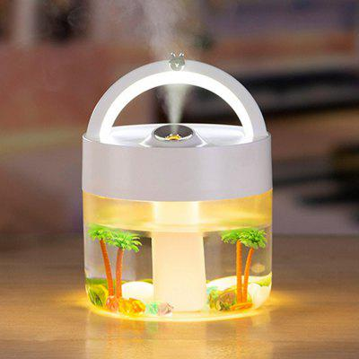 Portable Large Capacity Humidifier USB Charging with Night Light 1000ML