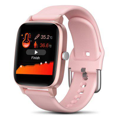 AD15 Smart Watch Temperature Measurement Full Touch Operation Interaction IPS HD Screen Smartwatch with Camera Sleep Blood Pressure Oxygen Heart Rate Monitor