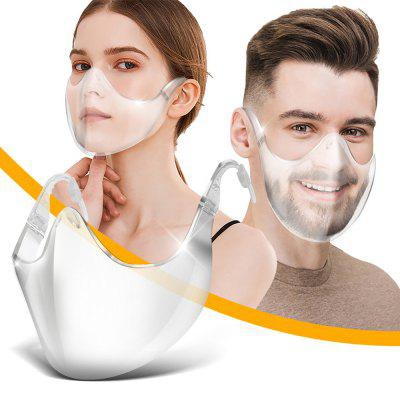 Face Shield PC Anti-splash Protective Transparent Spacer Mask