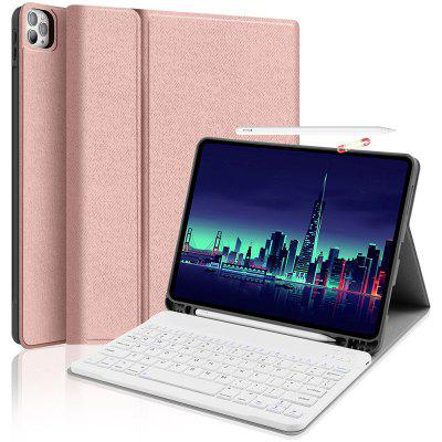 Wireless Bluetooth Tablet Keyboard Protective Case Cover for iPad Pro 2020 11 inch