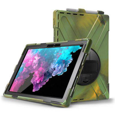 Solid Color Tablet Silicone Cover for Surface Pro 7 / 6 5 4 12.3 inch