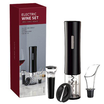 4-in-1 Plastic Wine Automatic Electric Bottle Opener Set