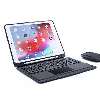 Tablet Wireless Bluetooth Keyboard with Magnet Protective Shell for iPad 9.7 (Air / Air 2 2016 2017 2018)