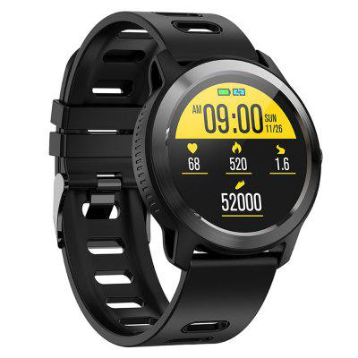 S08 Plus Smart Sports Watch IP68 Waterproof Pedometer Heart Rate Multi-sports Modes Information Push Fitness Tracker Smartwatch