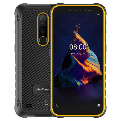 Ulefone Armor X8 Rugged Waterproof Smartphone Android 10 5.7 inch Cell Phone 4GB 64GB IP68 Octa-core NFC 4G LTE Mobile Phone Global Version