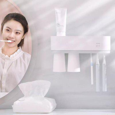 WY020702 Smart Sterilizing Toothbrush Cup Holder Grid Kit with Two Suction Cups from Youpin