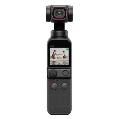 DJI OSMO POCKET 2 Gimbal Camera 4K HD 60fps FOV 93 Degree 64MP AI Editor Stereo Recording