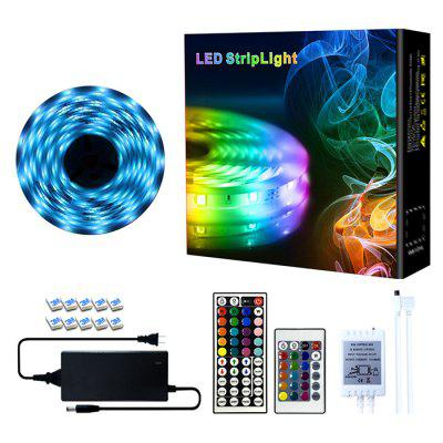 10M Waterproof RGB Colorful Light Strip with Remote Control