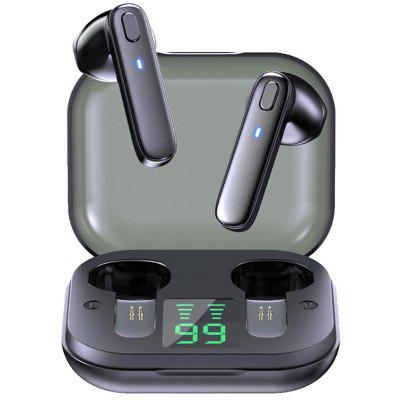 Gocomma R20 TWS Sports Earbuds Headphone Wireless Bluetooth Earphones Waterproof Deep Bass Stereo Headset with Microphone