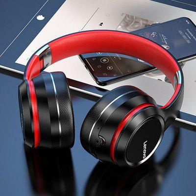 Lenovo HD200 Bluetooth Headphone Wireless Bluetooth Headphones Stable Transmission Noise Reduction - Black