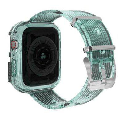 Transparent TPU Watch Strap Protector Case for Apple