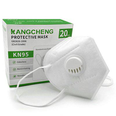 Фото - KN95 FFP2 FFP3 Mask Five Layers Protective Mask Non Medical with Breathing Valve Built-in 50PCS 50pcs at24c02 24c02 sop8