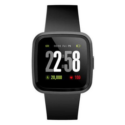 V12C Smart Watch Heart Rate/Blood Pressure Monitoring Waterproof Exercise Pedometer Fitness tracker Fashion Smartwatch