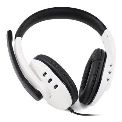 TY-0820 3-in-1 Wired Gaming Headset Head-mounted Support PS5 / PS4 PC Switch X-ONE(S) X-360