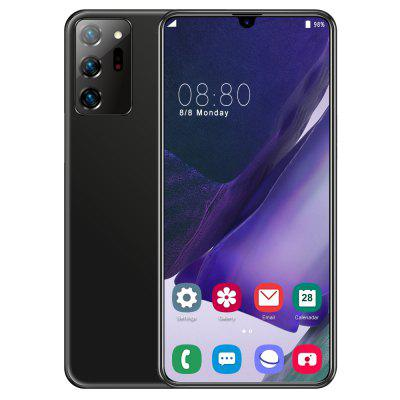 Note20U Smartphone MT6799 Quad Core 6.3 inch HD+ 2GB RAM + 32GB ROM Android 9.0 13MP + 32MP Cameras 4800mAh Battery Face ID Unlock