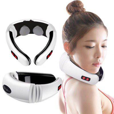 Intelligent 3D Cervical Spine Massage Instrument Multifunction Electromagnetic Pulse Massager