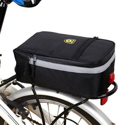 Seat Cover Trunk Pad Lithium Battery Folding Electric Bicycle Bike MTB Rear Tail Bag