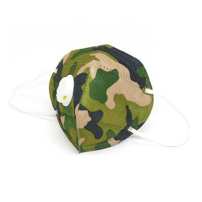Фото - KN95 Mask 5 Ply Breathing Valve Anti-fog Dustproof Respirator Face Mask Camouflage Color for Adult 50PCS 50pcs at24c02 24c02 sop8