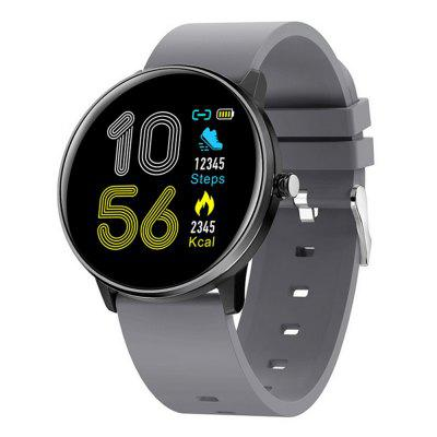 MX6 New Smart Watch Full Screen Touch Bracelet Blood Rate Pressure Monitoring Real Time Weather IP68 Waterproof