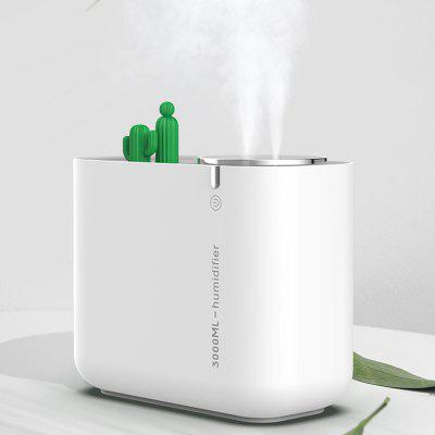M202+ Cactus Ball Large Capacity Humidifier Home Desktop Double Spray Nozzle Air Purifier