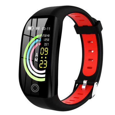 F21 Color Screen Smart Bracelet Exercise Heart Rate Blood Pressure Waterproof Sleep Health Monitoring Step Counter Bluetooth Reminder Wristband