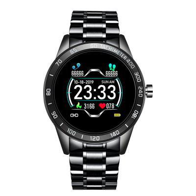 GO1 Smart Watch 1.54 inch Big Full Touch Screen Fitness Tracker One Key Monitor Heart Rate Sleep Monitor Smartwatch for Android and iOS Phone