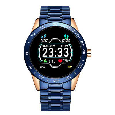 GO1 Smart Watch 1.54 inch Big Full Touch Screen Fitness Tracker One Key Monitor Heart Rate Sleep Smartwatch for Android and iOS Phone